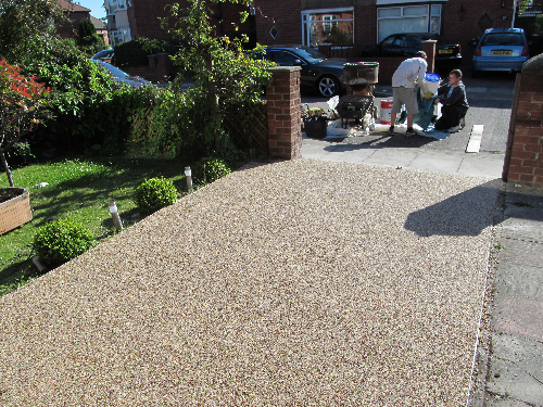 Resin driveways South Shields Tyne and Wear