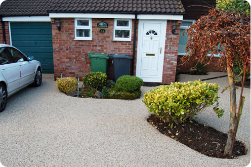 Resin driveways North Tyneside residential resin drives