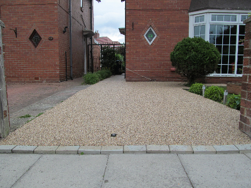 Domestic resin bound driveways Earsdon North Tyneside