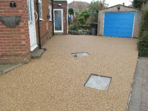 Domestic resin driveways Northumberland