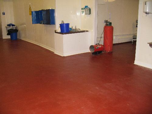 Resin floor coatings and floor screeds County Durham