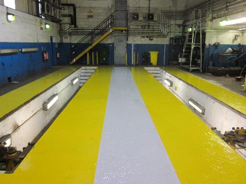 Industrial resin flooring Darlington County Durham