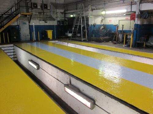 Garage floor painting Darlington County Durham