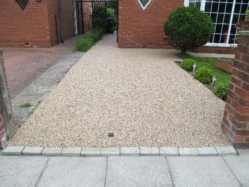 Resin bound driveways North Tyneside decorative gravels