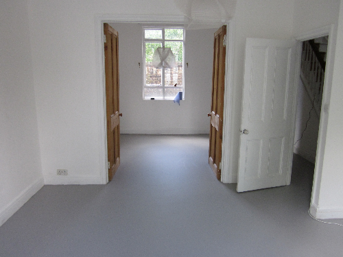 Seamless poured rubber flooring London