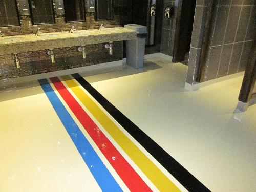 Seamless resin flooring Oxford