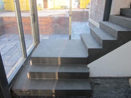 Solacir Microscreed Staircase Installation In Carlisle Cumbria