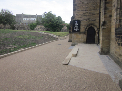 North Shields Resin Exteriors Pathways Paving Drives
