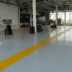 Epoxy resin coatings painting floors North East England