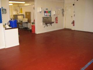 Food grade heavy duty resin flooring North East England