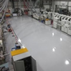 Epoxy resin primer at TRW Peterlee County Durham