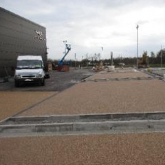 Aston Martin Silverlink Newcastle exterior resin floors