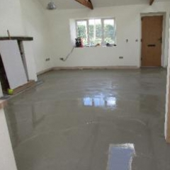 Flowable interior floor screeds North East England