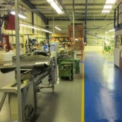 Workshop floor painting Sunderland Tyne and Wear