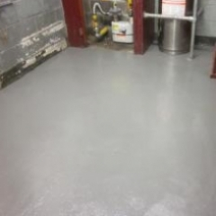 Food standard polyurethane floor screeds North East