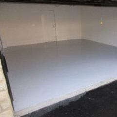 Residential Garage Floor Painting North East England