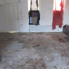 Defective and damp floor screed Crook County Durham