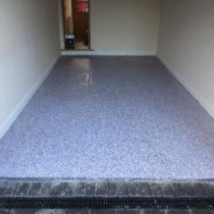 Decorative Epoxy Floors Flake System North East England