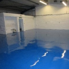 Factory Floor Painting Horden County Durham