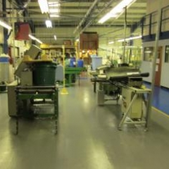 Workshop floor painting Newcastle Upon Tyne