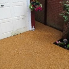 Resin bound surfacing Northumberland residential