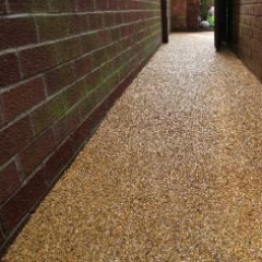 Resin bound pathway Northumberland resin floors