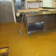 Resin flooring Northumberland commercial kitchen