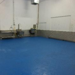 Factory Floor Painting County Durham