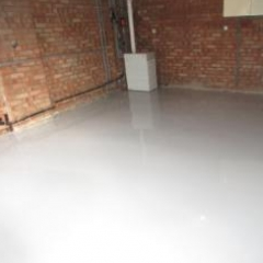 Shiny Garage Flooring Stokesley North Yorkshire