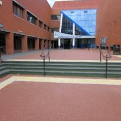 Resin bound surfacing Hartlepool magistrates courts