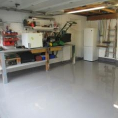 Seamless Garage Flooring Morpeth North East England