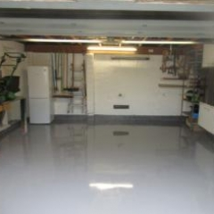 High Gloss Garage Flooring Morpeth North East England