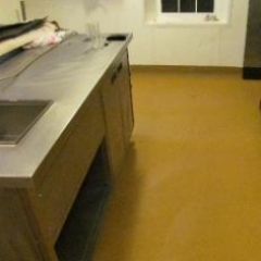 Industrial commercial kitchen flooring North East