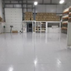 Workshop Floor Painting North East England