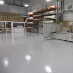 Workshop Epoxy Flooring North East England