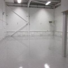 Floor Painting Silverlink North Shields Tyne and Wear