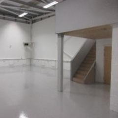 Resin Flooring Silverlink North Shields Tyne and Wear