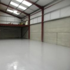 Garage Floor Painting Barnard Castle North East England