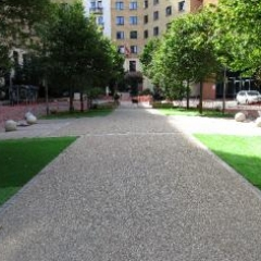 Exterior Resin Flooring Surfacing Newcastle Upon Tyne