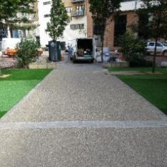 Resin Bonded Bound Paving Driveways Newcastle Upon Tyne