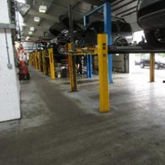 Land Rover service bays Lemington Newcastle