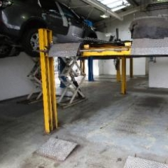 Land Rover garage workshops Lemington Newcastle