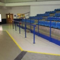 Epoxy resin flooring Manheim Auctions in Bristol