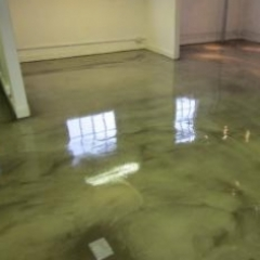 Microscreed commercial concrete floors East London