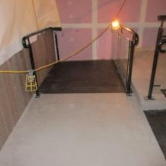 Solacir microscreed floors waxed concrete flooring