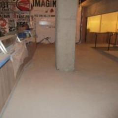 Solacir microscreed floors in the North East of England