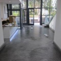 Microscreed installed by Resin Flooring North East Ltd