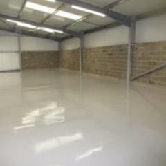 North East England Factory Floor Painting Middlesbrough
