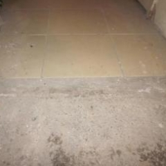 Defective floor tiles Winchester Terrace Newcastle