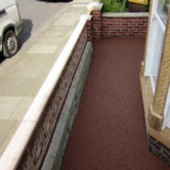 Resin Bound Paving Newcastle residential property